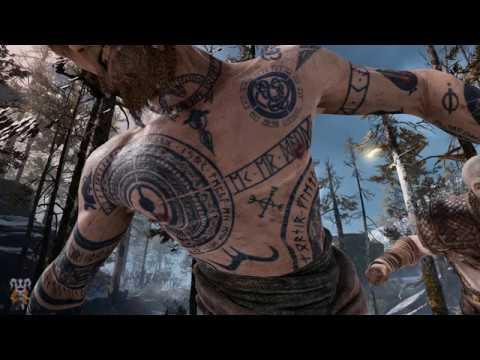 God Of War 4 Traducidos Los Tatuajes De Baldur Cuál Es Su Significado
