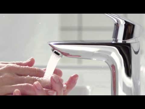 hansgrohe Logis Single Hole Bathroom Faucet - YouTube