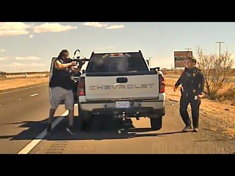 Dashcam Footage From Fatal Shooting of Officer Darian Jarrott (Phuckem)