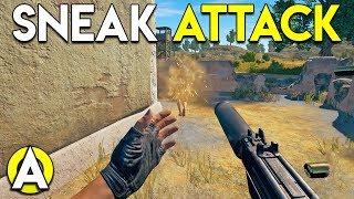 SNEAK ATTACK - PUBG