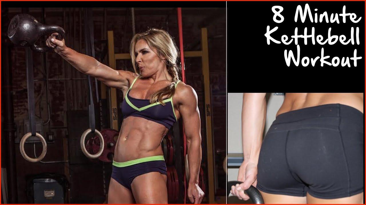 8 Minute Kettlebell Workout