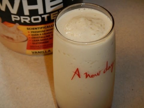 Pina Colada Protein Drink