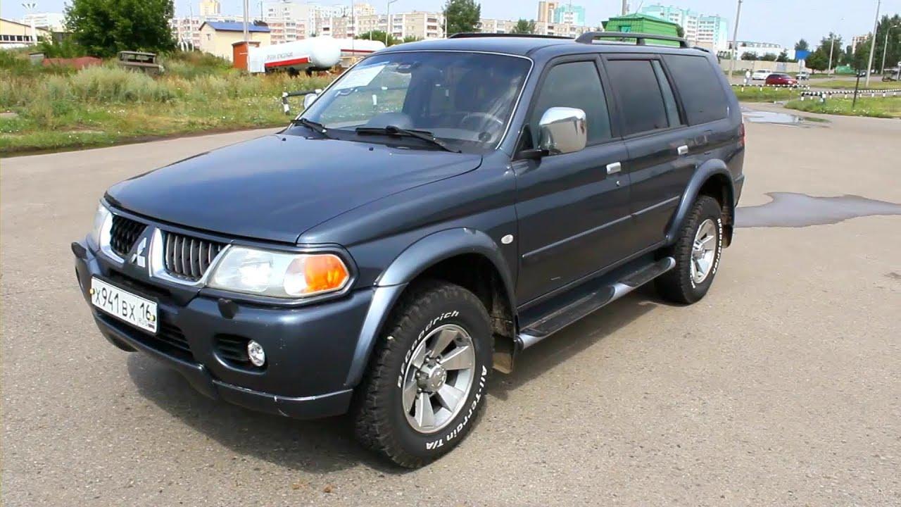 2006 Митсубиси Паджеро Спорт. Обзор (интерьер, экстерьер, двигатель).