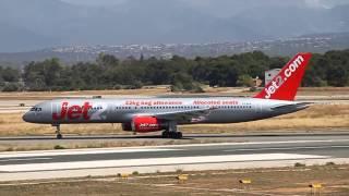 [HD] Boeing B757-236 G-LSAA Jet2 arrives Palma de Mallorca Airport (PMI/LEPA)