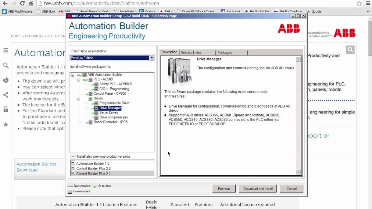 How To Download ABB's Automation Builder
