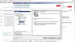 How To Download ABB's Automation Builder(This video contains detailed instructions on how to download ABB's automation builder for your PLC., 2016-07-15T16:42:26.000Z)