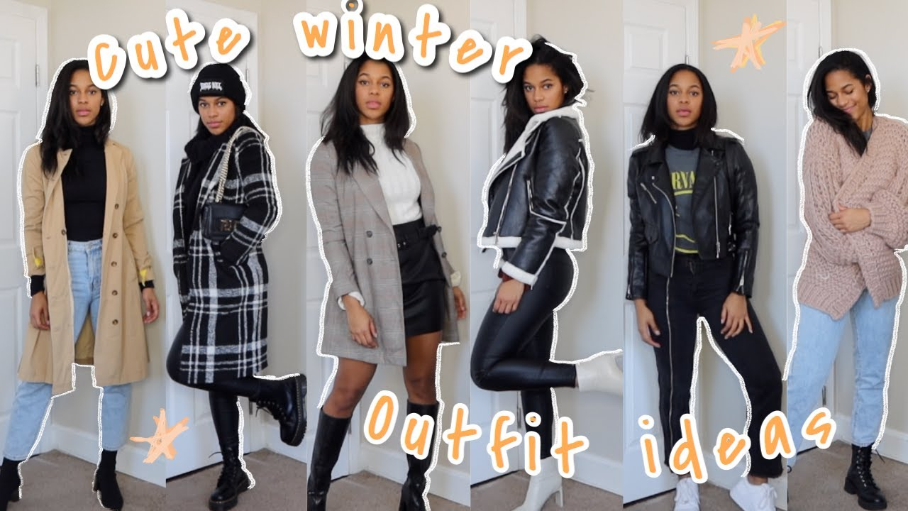[VIDEO] - WINTER outfit IDEAS (casual and dressy) 8