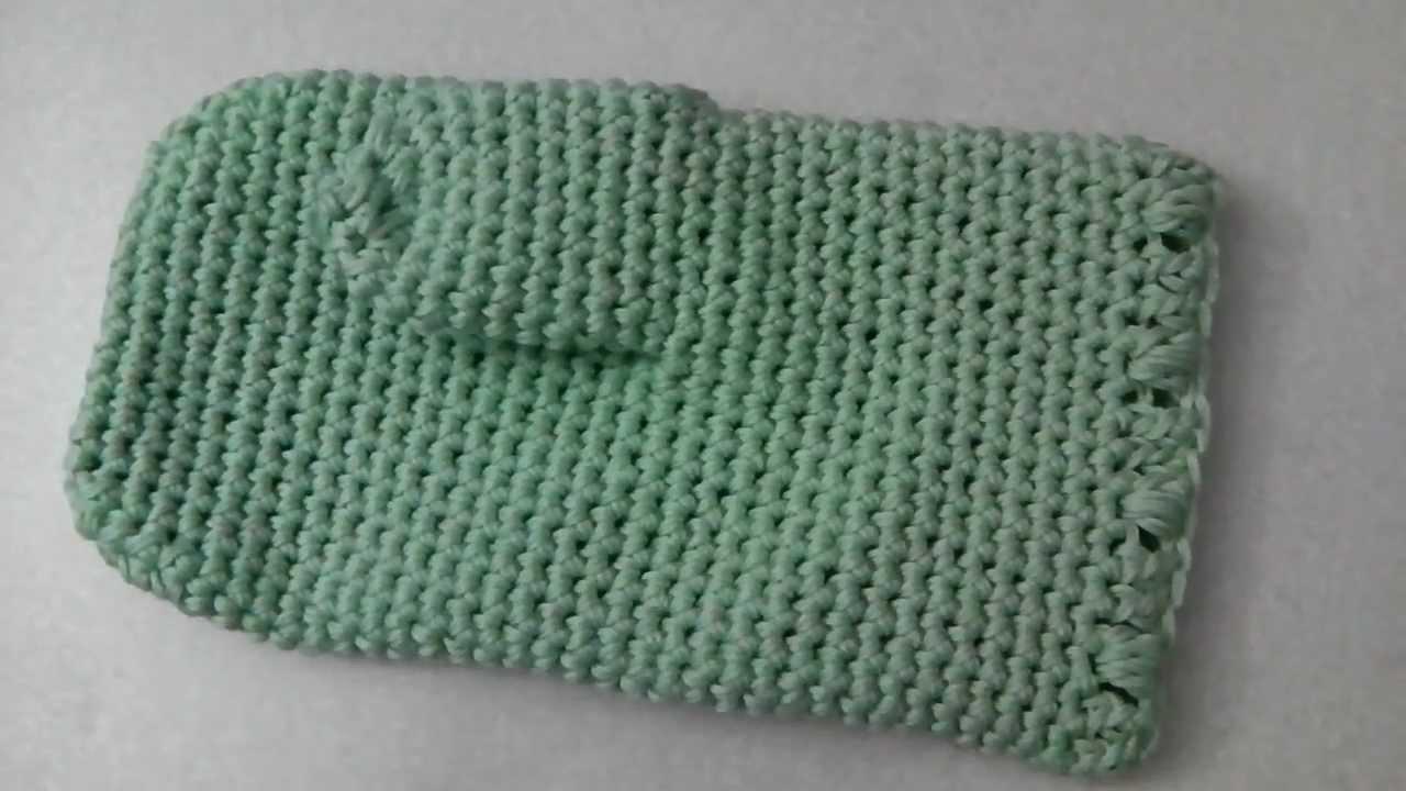 Knitting Pattern Oven Gloves : Oven mitt glove crochet tutorial - YouTube