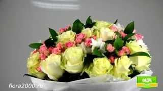 Цветы с доставкой на 8 марта. Букет Бело-розовый нежный(Цветы с доставкой на 8 марта. Букет Бело-розовый, заказ и доставка цветов, Flora2000.ru Заказать на сайте http://flora2000...., 2014-11-25T10:36:18.000Z)