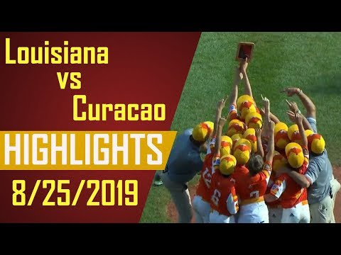 Little League World Series 2019 Championship Game - Louisiana vs Curacao Highlights | LLWS 2019