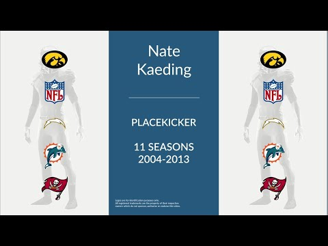 Nate Kaeding: Football Placekicker