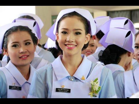 พิธีมอบหมวก นศ.พยาบาล ม.อุบลฯ ประจำปี 2557