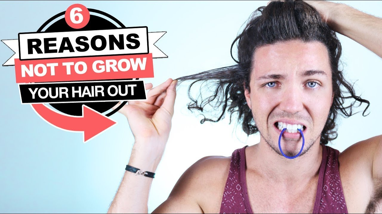 ✅ 6 Reasons NOT to Grow Your Hair Out - Mens Long Haircut Styles ... 1028111f94ed