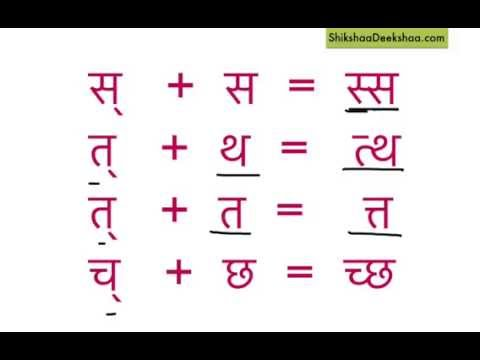 Learn hindi lesson 20 - संयुक्ताक्षर Part 2 ( Combined letters/ clusters )