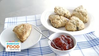 Cherry-hazelnut Scone Recipe - Everyday Food With Sarah Carey