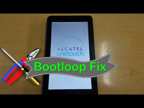 Alcatel Onetouch Pixi 3 Stuck On Boot Fix Or  Hard Reset