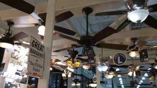 Ceiling Fans on the display at Menard's