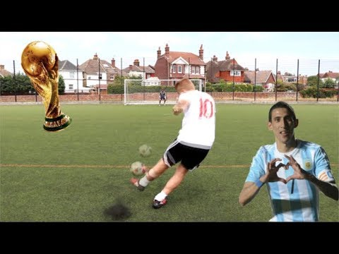 RECREATING THE BEST WORLD CUP GOALS 2018