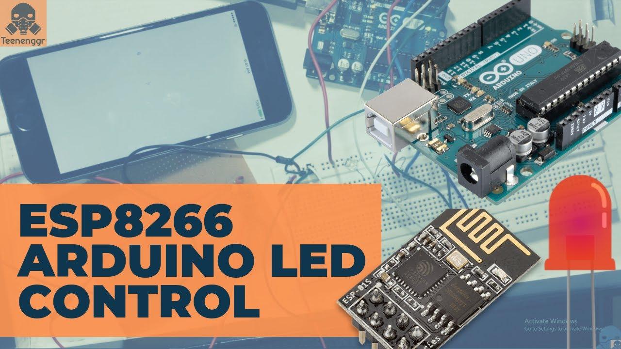 Control LED using ESP8266 Wifi module and iPhone/Android | Wifi | ESP8266 |  Arduino UNO | iPhone