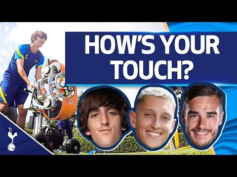 HIGH SPEED BALL CANNON |  WHAT IS YOUR TOUCH LIKE?  |  Bryan vs. Gollini vs. Winks