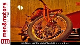 Brief History Of The Wall Of Death Motorcycle Stunt