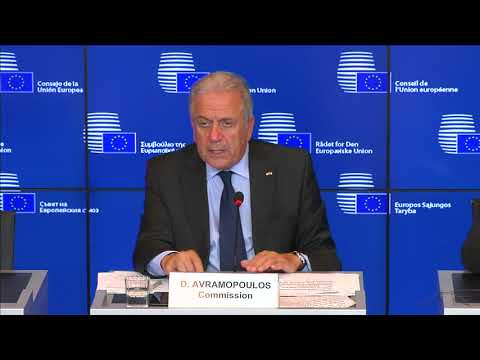 Remarks by Commissioner Avramopoulos following the JHA Council in Luxembourg