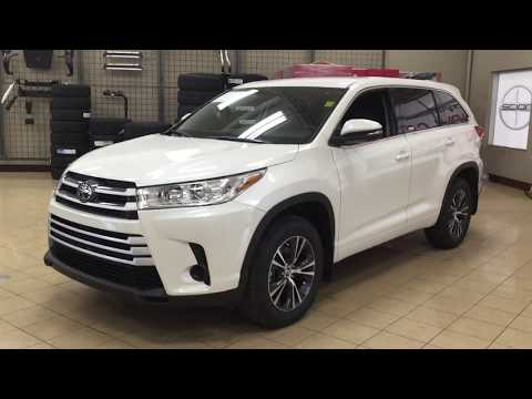 2018 Toyota Highlander LE AWD Review