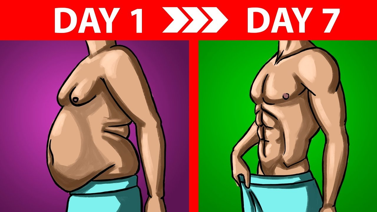 best way to lose weight in a week without exercise