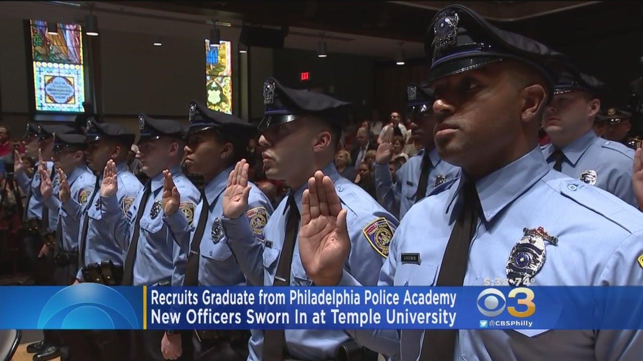 Recruits Graduate From Philadelphia Police Academy