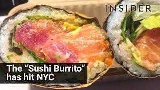 The 'Sushi Burrito' has hit NYC