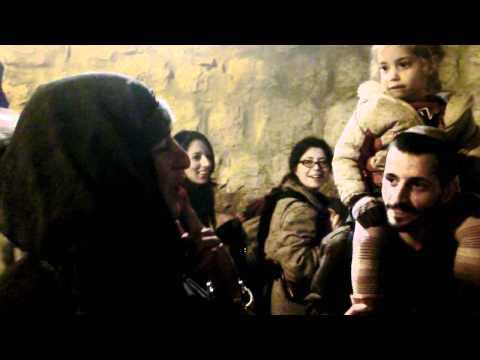 20111124 19:31.Jerusalem Knights at the old cityl.