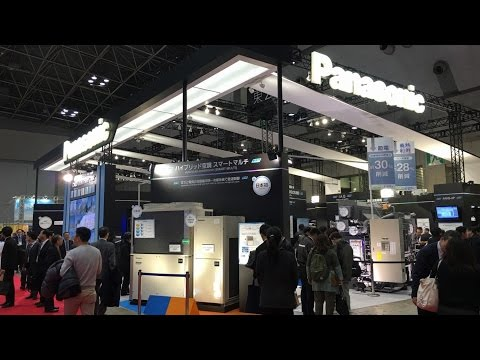 Panasonic at  HVAC&R Japan 2016 - Showcasing Comfortable, Energy-saving, Air Conditioning Solutions