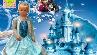 Эльвира покупает себе платье Эльзы.Эльза Эльвира Холодное Сердце Frozen Elsa costume