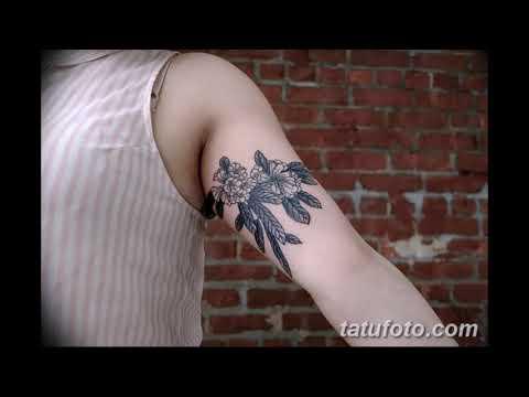 Значение тату цветок колокольчик - оригинальные варианты рисунков для татуировки на фото