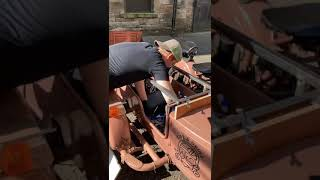 Ural coffee cart counter built…