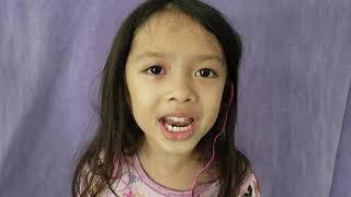 NainoWale Ne singing by 6 year old a capella
