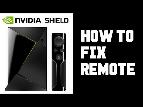 How To Fix Nvidia Shield Remote - Nvidia Shield Remote Battery Replacement - Not Working Pairing