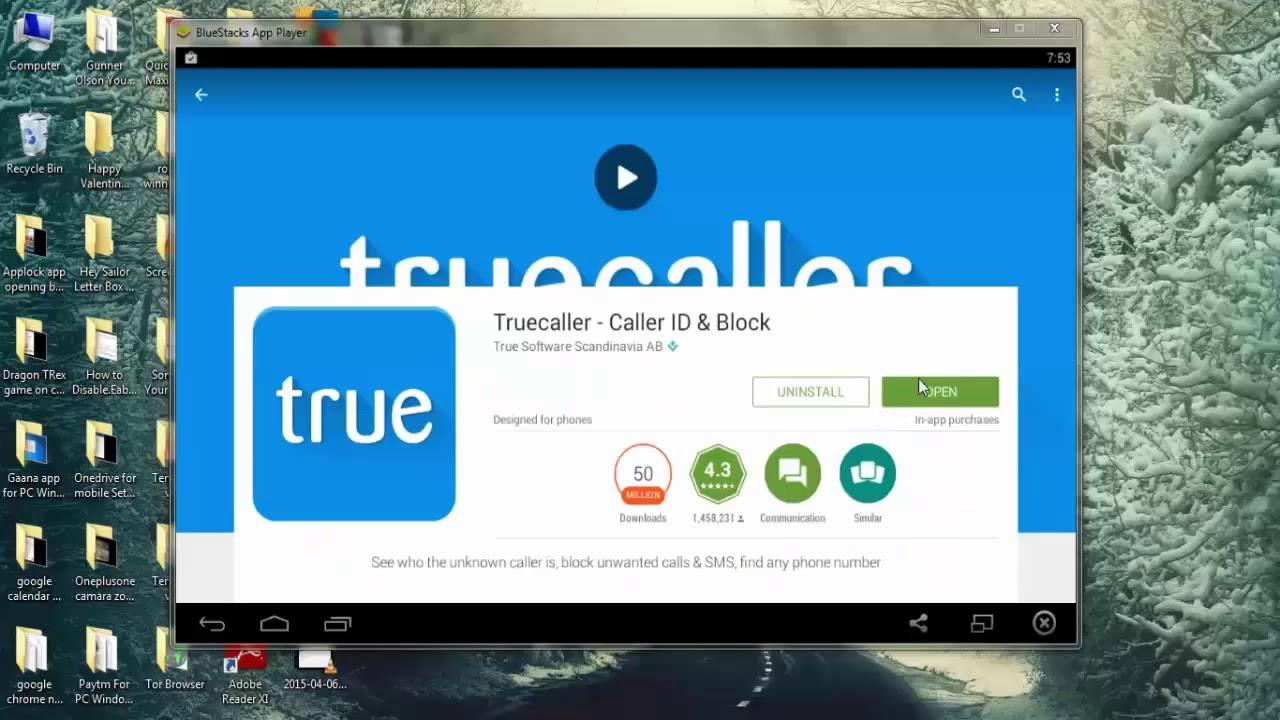 truecaller pour windows 7