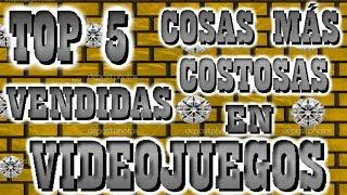 TOP 5 Cosas Más Caras Vendidas En Videojuegos