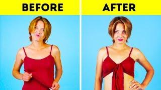 27 SUPER EASY CLOTHING TRICKS
