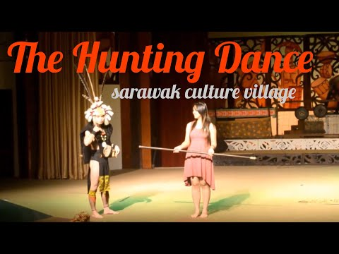 Kuching in SCV - Orang Ulu the hunting dance part 4