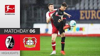 SC Freiburg Bayer 04 Leverkusen 2 4 Highlights Matchday 6 Bundesliga 2020 21