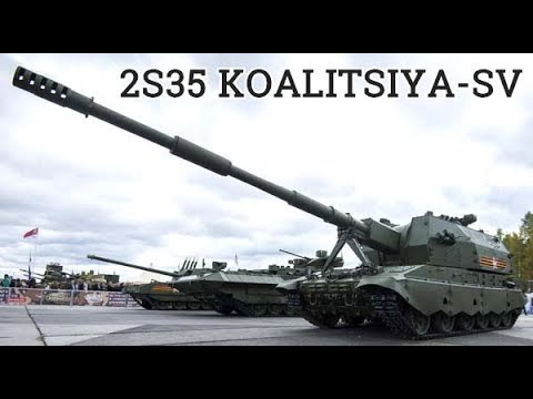 "New Russian Howitzer ""Koalitsiya"" Has No Analog In The World"