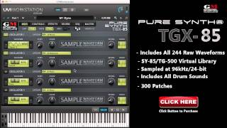 TGX-85 - Yamaha SY85/TG500 VST Plugin Virtual Sound Library