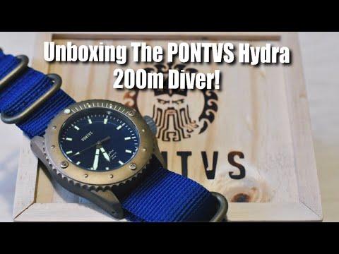 Unboxing The PONTVS Hydra 200m Diver!