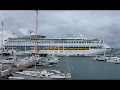 Bermuda Cruise Ship Crash