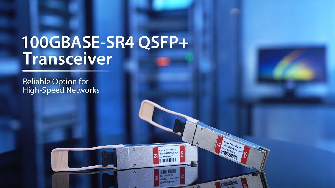 QSFP28-SR4-CO MMF, 850nm, 100m, MPO, DOM Allied Telesis Compatible 100GBase-SR4 QSFP28 Transceiver