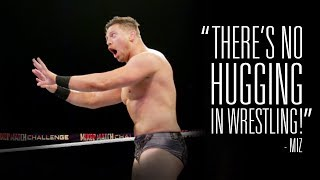 Hear some of the unique exchanges between Superstars like The Miz, ...
