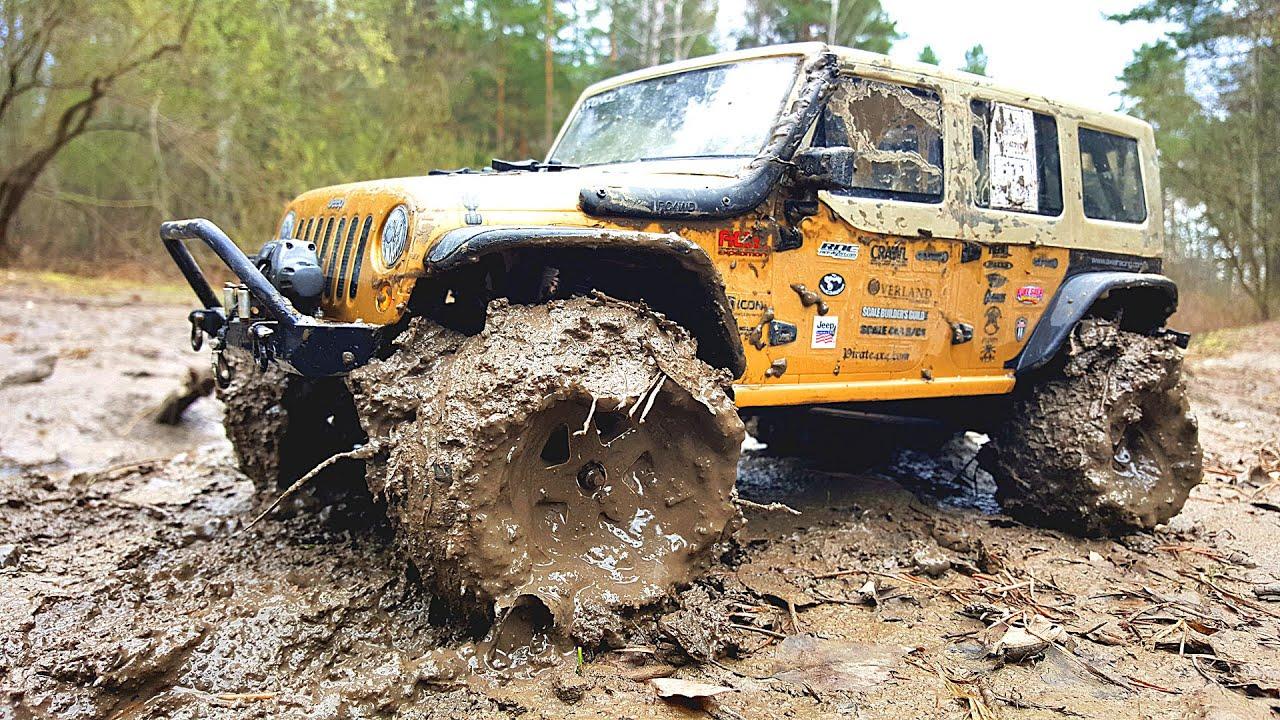 RC Scale Trucks OFF Road Jeep Wrangler Rubicon Integy