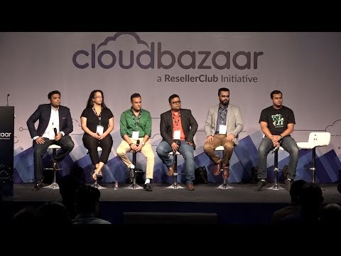 Panel Discussion about Web Presence of a Business & Why is the Domain Name Important | ResellerClub